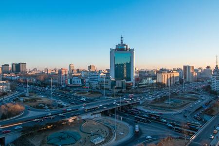 Beijing urban architectural landscape