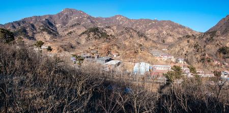 mutianyu: The Mutianyu Great Wall canyon landscape, Beijing
