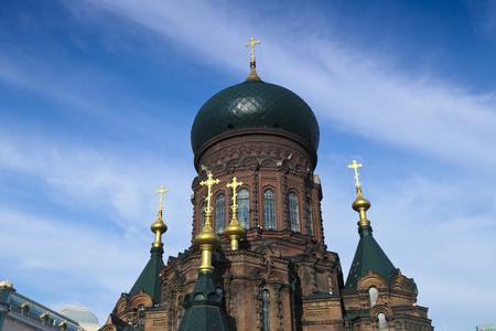 Sophia church in Harbin, heilongjiang province