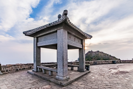 Landscape architecture of Taishan ancient buildings in Tai'an City, Shandong Province