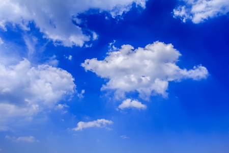 blue sky and white clouds Stock Photo - 115162007