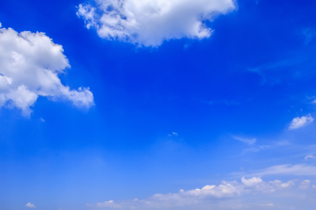 blue sky and white clouds Stock Photo - 115162003