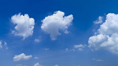 blue sky and white clouds Stock Photo - 115227746