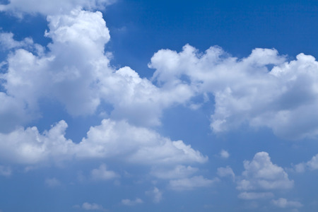 blue sky and white clouds Stock Photo - 115228096