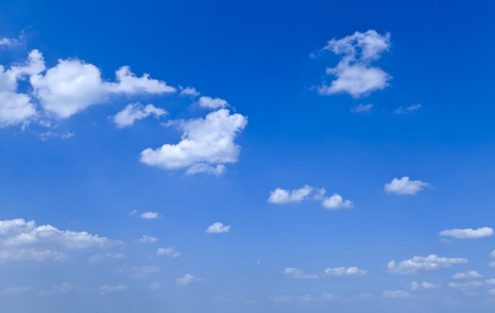 blue sky and white clouds Stock Photo - 115228287