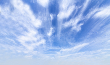 blue sky and white clouds Stock Photo - 115229651