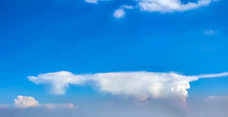 blue sky and white clouds Stock Photo - 115229775