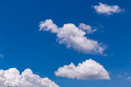 blue sky and white clouds Stock Photo - 115230030