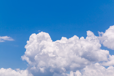 blue sky and white clouds Stock Photo - 115230031