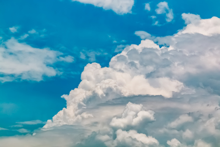 blue sky and white clouds Stock Photo - 115230159