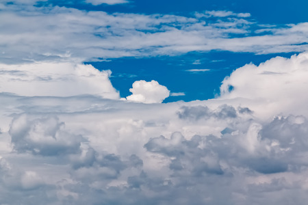blue sky and white clouds Stock Photo - 115230368