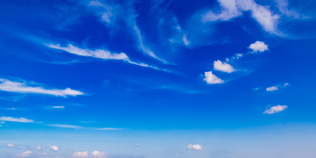 blue sky and white clouds Stock Photo - 115229805