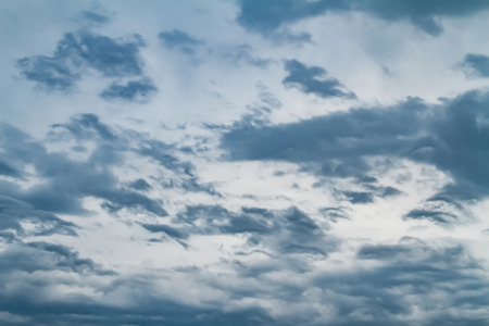 Sky with typhoon clouds 스톡 콘텐츠 - 115150235