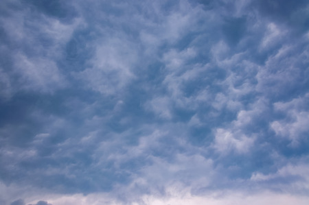 Sky with typhoon clouds 스톡 콘텐츠 - 115151989