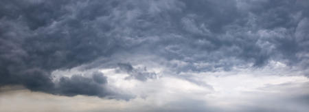 Sky with typhoon clouds 스톡 콘텐츠 - 115152709