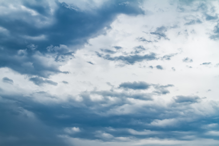 Sky with typhoon clouds 스톡 콘텐츠 - 115153008
