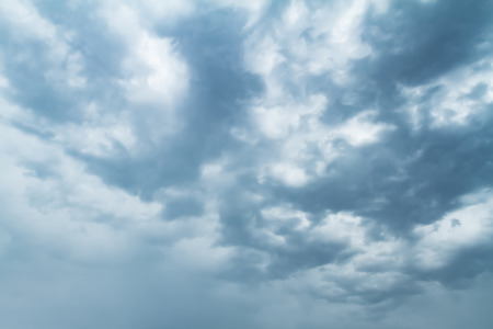 Sky with typhoon clouds 스톡 콘텐츠 - 115153337