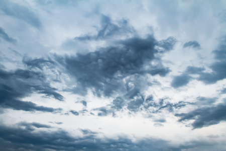Sky with typhoon clouds 스톡 콘텐츠 - 115153426