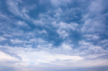 Sky with typhoon clouds 스톡 콘텐츠 - 115154668
