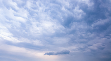 Sky with typhoon clouds 스톡 콘텐츠 - 115154697