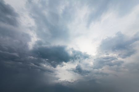 Sky with typhoon clouds 스톡 콘텐츠 - 115155201