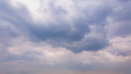 Sky with typhoon clouds 스톡 콘텐츠 - 115155244
