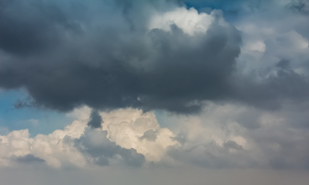 Sky with typhoon clouds 스톡 콘텐츠 - 115156832
