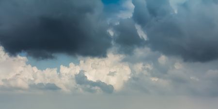 Sky with typhoon clouds 스톡 콘텐츠 - 115157038