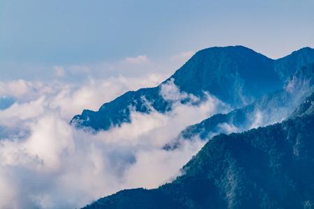 Natural Landscape of Lushan Mountain Scenic Area in Jiujiang City, Jiangxi Province 版權商用圖片