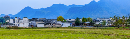 Architectural Landscape of Ancient Dwellings in Nanping Village, Yi County, Anhui Province