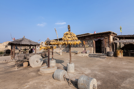 Architectural Landscape of Zhenbei Fort Western Film City, Yinchuan City