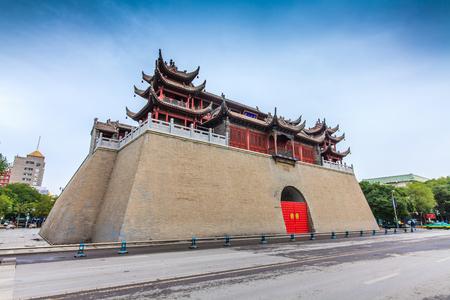 Ningxia Yinchuan City Yuhuangge architectural landscape