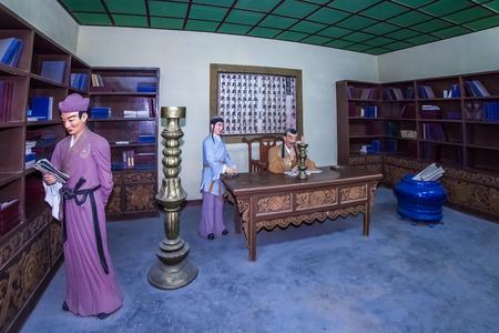 Yinxia City Xixia Dynasty Court Life Building Landscape
