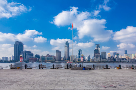 Shanghai Huangpu River Bund, Wanguo Architecture Landscape