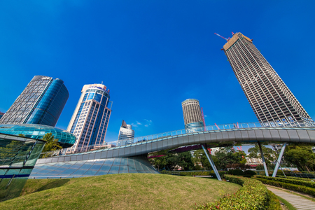 Shanghai Huangpujiang North Bund Architectural Landscape 新聞圖片