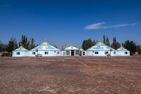 Inner Mongolia Tengger yurt