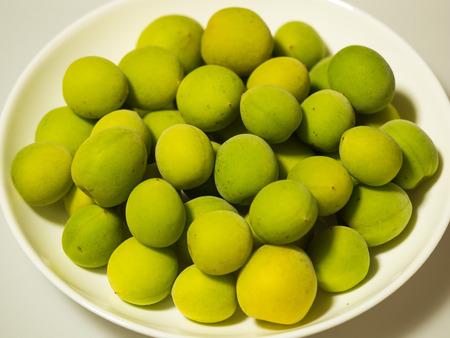perishable: Green plum