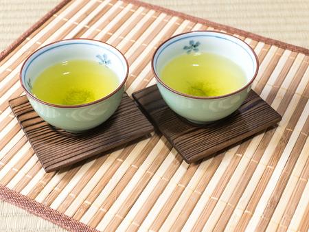 repose: Tea Stock Photo