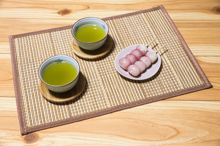 repose: Japan and the Japanese-style confection Stock Photo
