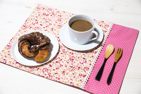 confectionary: Coffee and donuts