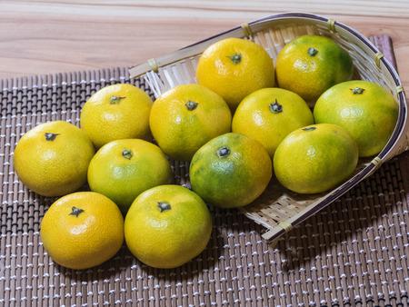 naranjas: Mandarin oranges