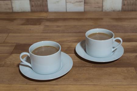 au: Cafe au lait Stock Photo