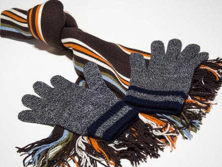 Casual attire for winter 写真素材
