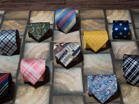 colorful Tie 写真素材