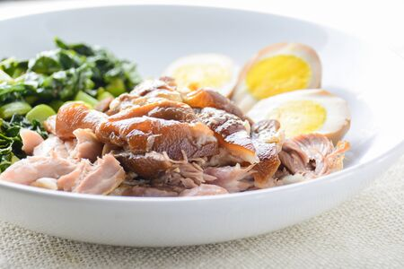 Braised Pork Leg, a one pot comfort dish
