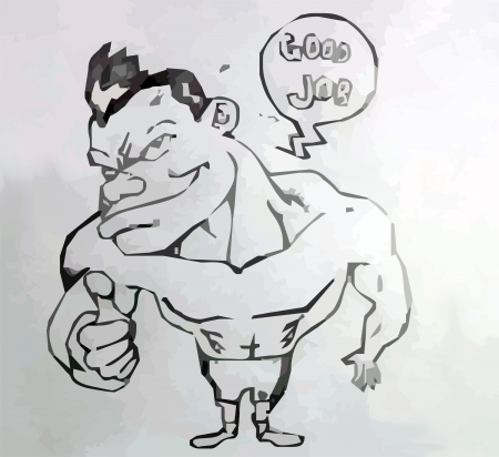 good job: Good Job cartoon