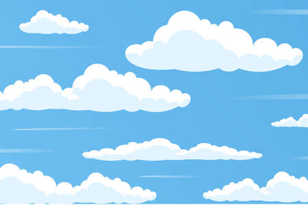 Sky wallpaper for video conferencing Ilustrace