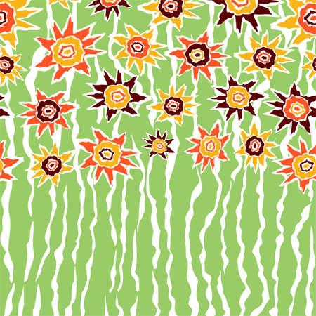 batik glue motif with a flower background