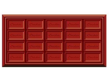 casse-cro�te: Illustration - Chocolat Vecteur
