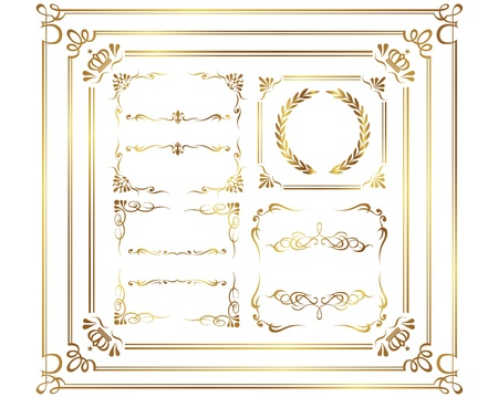 Design Elements Collection Stock Vector - 12321074